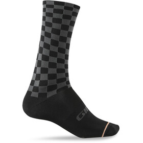Giro Comp High Rise Socks Unisex charcoal/peach